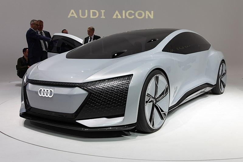 Audi Aicon autonomes Fahrzeug