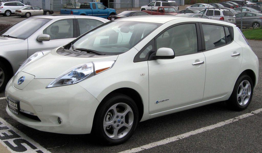 Nissan Leaf Teil der E-Mobilität